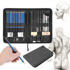 40pcs Professional Drawing Artist Kit Set Pencils And Sketch Charcoal Art Tools