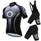 2019 Pro Team Cycling Clothing Summer MTB Bike Jersey Set Racing Bicycle Clothes