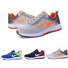 Mens Outdoor Flat Heel Low Top Lace Up Running Athletic Sneakers Shoes Comfort