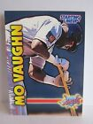 1999 MO VAUGHN ANGELS EXTENDED STARTING LINEUP CARD