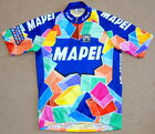 EXCELLENT CONDITION MAPEI PRO TEAM JERSEY SANTINI XL SIZE 5 41 CIRCUMFERENCE