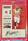 2017 Panini Contenders Football Cards - SP/SSP Rookie Ticket Print Runs Added 10