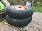 2 wheels tyres forcompact tractor size 136 12 28 may be of kubota iseki ford