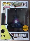 Funko Pop! Bill Cipher #243, chase, Disney Gravity Falls, in pop protector