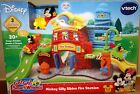 Disney VTech Go Go Smart Wheels Mickey Mouse Silly Slides Fire Station New