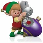 2015 Hallmark NORTH POLE TREE TRIMMERS Elf decorating ORNAMENT series #3