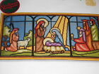 Christmas Stained Glass Nativity Needlepoint Kit by Sunset Design Wayne Maurer
