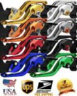 US FOR HONDA SHADOW 400/600/750/1100 NT650 HAWK GT CNC CLUTCH BRAKE LEVERS 5D