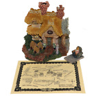 Bailey's Cozy Cottage Boyds Bearly Built Villages 2000 Boyds Town Style# 19002