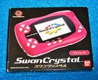 Bandai WonderSwan Crystal Handheld Console (Wine Red colour)