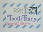 Handpainted Needlepoint Canvas Rachel Donley Tooth Fairy Envelope Mail RD 109