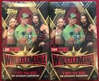 2019 Topps WWE Road To Wrestlemania Factory Sealed Hobby Box - 2 Box Lot