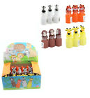 Zoo Animal Jungle Characters Bubble Bottles 24 Pack
