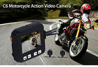 Motorcycle Moto Dual Lens Waterproof Camera 120° Wide Angle Video Recorder + GPS