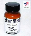 Silver Nitrate made from 9999 silver reagent 25 grams AgNO3 CAS 7761 88 8