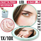 Lighted Makeup Mirror with Lights LED Magnifying with Magnification Portable