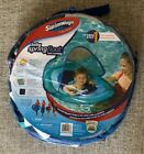 NEW Swimways Blue Baby Float w Detachable Sun Shade Ages 9 24 Months