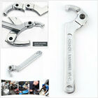 Chrome C Shape Adjustable Wrench Square Head 12'' 51-121mm Motorcycle Suspension