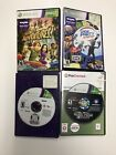 Lot of 4 Games XBOX 360 Kinect Biggest Loser The Black Eyed Peas Game Party