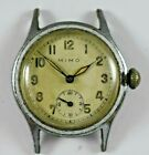Vintage Swiss Made Mimo by Girard Perregaux Military Style Mens Watch Runs lot.f