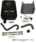 1976 1977 Jeep CJ New Plastic Gas Tank Kit with Skid Plate and Hoses 15 Gallon