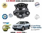 FOR LEXUS RX450H HYBRID 4X4 MODELS 2008 NEW 1 X REAR WHEEL BEARING HUB KIT