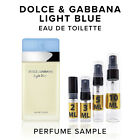 Dolce & Gabbana Light Blue For Women EDT Perfume Sample Travel Purse Size D&G