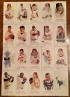 Topps Allen  Ginters 2006 18 Lot Of 188 DIFFERENT MINI Baseball Cards ALL AG