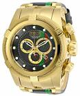 Invicta Men's 29052 Reserve Quartz Chronograph Gunmetal, Red, Green, Gold Watch