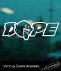 Dope Ghost Sticker Vinyl Decal Jdm Racing Illest Tuner Import Drift