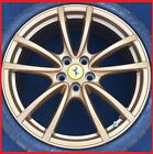19 FERRARI F430 SCUDERIA WHEELS GOLD MICHELIN TIRES 360 MODENA RIMS SCUD NEW
