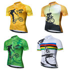 Bike Cycling Jersey Men Shirt Summer Breathable Cycling Clothing Pro Team MTB