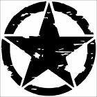 Army Star Vinyl Decal Jeep Star Decal Military Decals 12 Colorsavailable