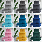 Luxury 100% Egyptian Cotton 10 Pc Towel Bale Set Bathroom & Hand Bath Towels New