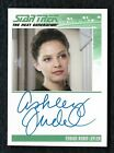 2012 Star Trek The Complete TNG Series 2 Autograph Ashley Judd as Ensign Robin
