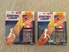 Pair of 1992 Kenner Starting Lineup Nolan Ryan Action Figures w/Posters
