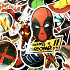 50Pcs Stickers MARVEL Avengers Super Hero DC For Car Laptop Skatboard Decal Tags