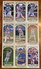 Topps GYPSY QUEEN 2011 Lot Of 60 DIFFERENT MINI Baseball Cards LK