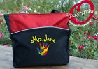 Personalized kindergarten Teacher toteembroidered with hand your nameautism