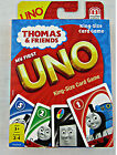 Uno Thomas and Friends King Size Card Game Build Skills Preschool Kids 3+ NEW