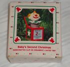 HALLMARK KEEPSAKE ORNAMENT ~ BABYS SECOND CHRISTMAS ~ JACK in the BOX ~ 1987