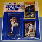 1990 STEVE BEDROSIAN sole San Francisco Giants Starting Lineup  Braves 1982 card