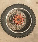 "2001 KTM 520SX Rear Wheel 19 19"" Inch Rotor Sprocket 400 450 520 525 EXC MXC SX"