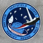 Space Shuttle Discovery Hartsfield Coats mission STS 41 D sticker