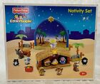 Fisher Price Little People Christmas Nativity Set N6010 Complete NICE SHAPE