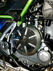 Real carbon fiber Fit Kawasaki Z650 engine clutch cover Trim KIT overlay