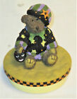 Our America Resin Boyds Bear Hallowee Candle Topper Made for Yankee  - New