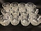 Stars Slewed Horseshoe Punch Cups Boxed