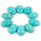 All Sizes Oval Blue Turquoise Gemstone Beads CAB Cabochon Jewelry Making DIY