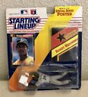 1992 KENNER RICKEY HENDERSON STARTING  LINEUP POSTER, CARD, FIGURE OAKLAND A'S